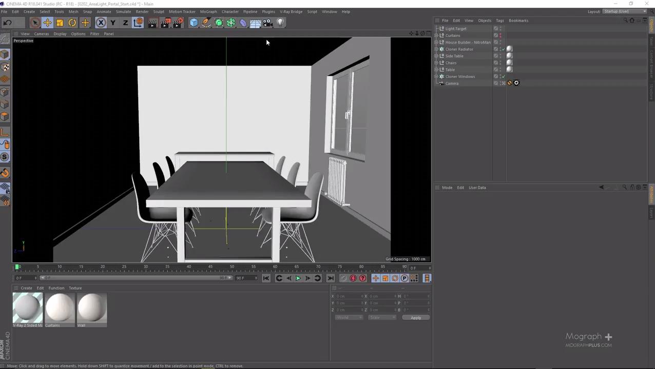Interior Lighting & Area Lighting In Vray for Cinema 4D | CG