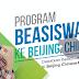Beasiswa Belajar Bahasa Mandarin Untuk Periode September di Beijing, Cina