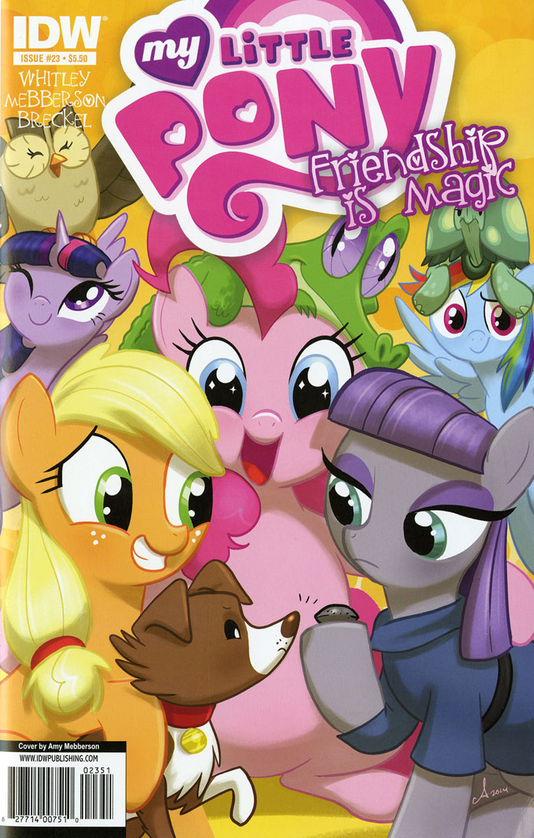 Mlp Friendship Is Magic Issue Amp 23 Comic Covers Mlp Merch