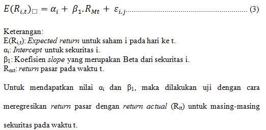 Cara Menghitung Return Saham Menggunakan Excel