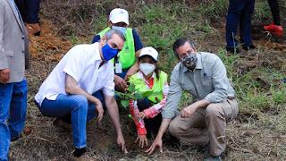Presidente Luis Abinader da inicio al Plan de Manejo Integral de las Cuencas Hidrográficas