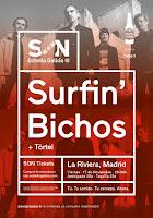Concierto de Surfin' Bichos y Tórtel en La Riviera