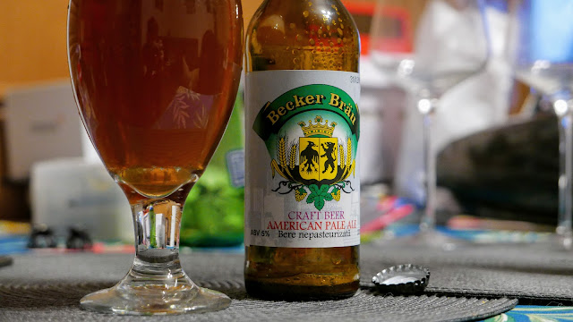 Review de bere: Becker Brau American Pale Ale