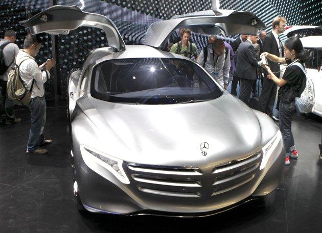 DSNG'S SCI FI MEGAVERSE: BEST OF THE 2011 FRANKFURT AUTO SHOW