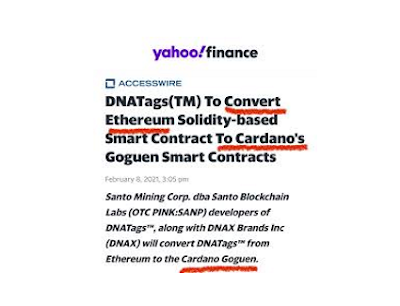 Cardano is the blockchain of the future and the future is here.