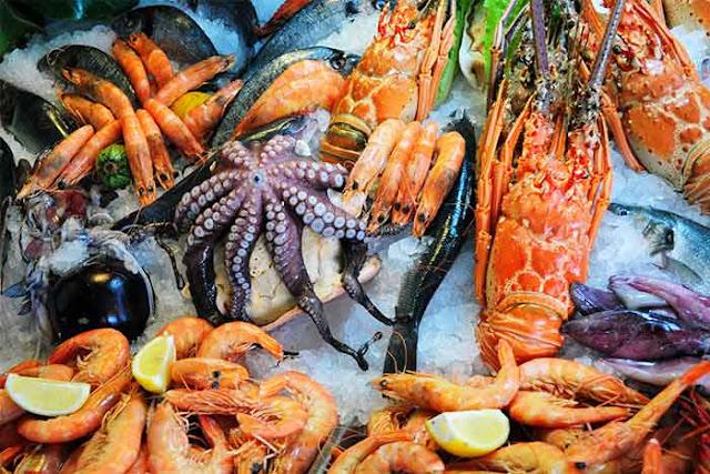 Les fruits de mer : Les fruits de mer