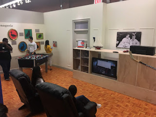 Joey and Chandler Apartment Recreation Friends Pop Up Experience