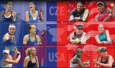 Fed Cup Final, 2018, USA, Czech Republic, teams, players, rosters, o2 arean, Prague, November.