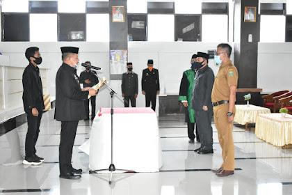 13 Pejabat Eselon III dan IV Lingkup Pemkab. Takalar dilantik dan diambil sumpah