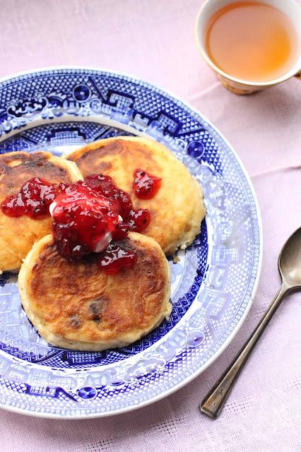 pancake russe au fromage frais egoutte maison