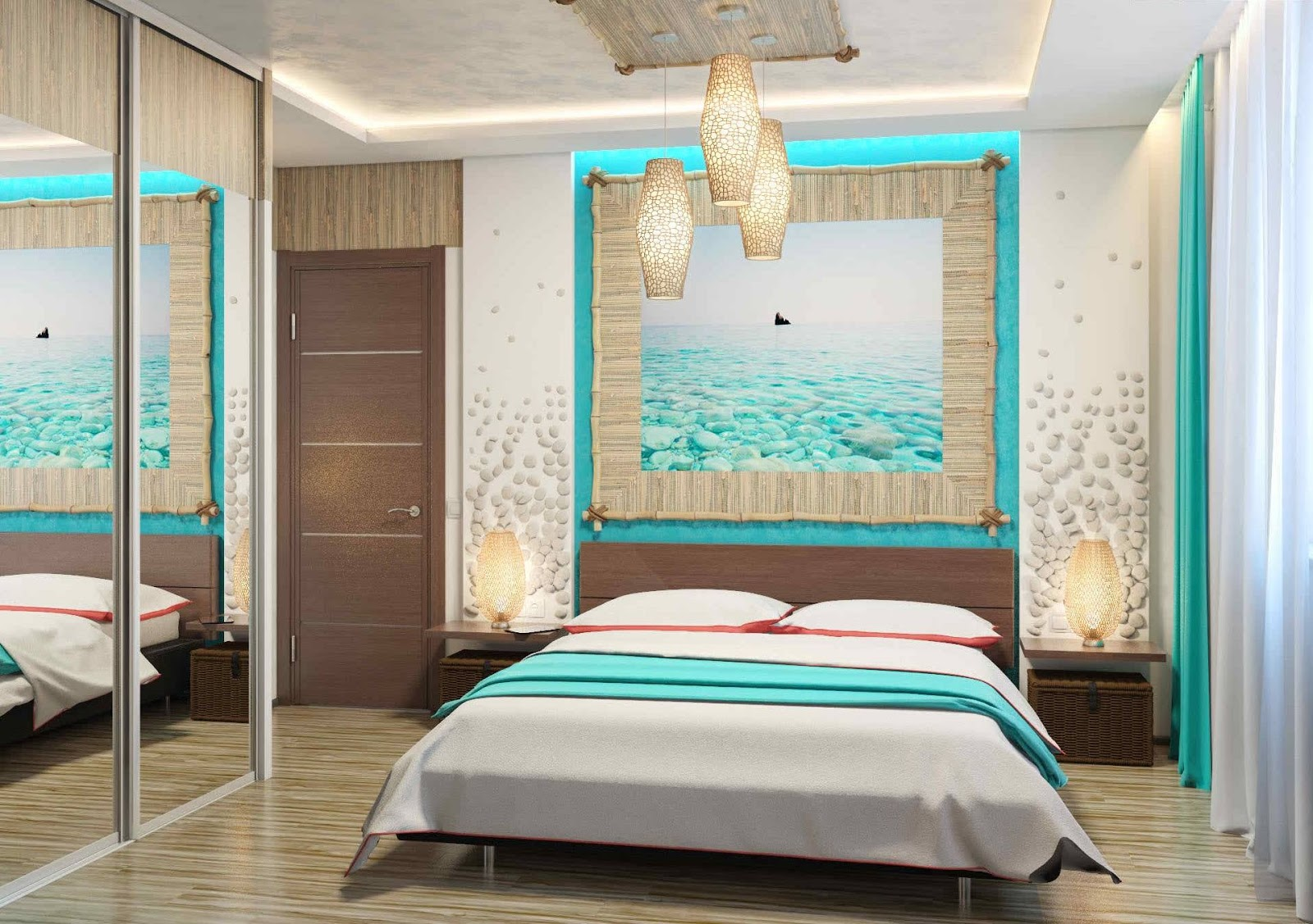Unique Turquoise Bedroom Furniture Designs