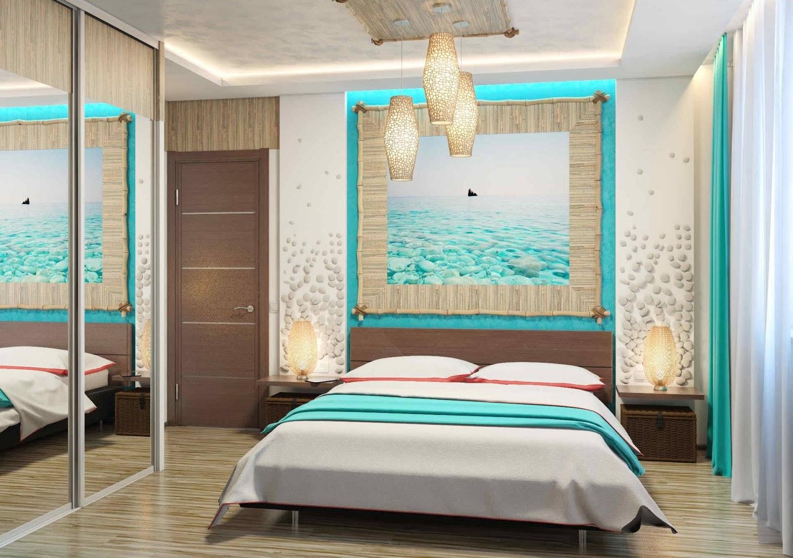 Unique Turquoise Bedroom Furniture Designs
