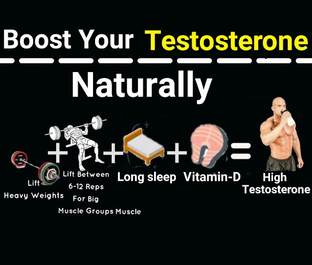5 proven way to boost testosterone naturally.
