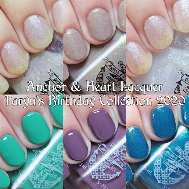 Anchor & Heart Lacquer Taryn's Birthday 2020 Collection