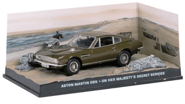 Aston Martin DBS - On her majesty's secret service 1:43 colección james bond
