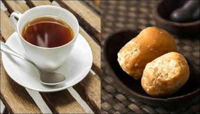 Jaggery tea in Tamil