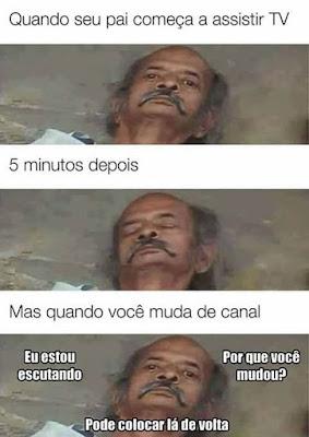 memes, melhores memes da net, melhor site de memes, site de memes, memes brasil, humor, engraçado, memes engraçados, comedia , pai, pai assistindo tv