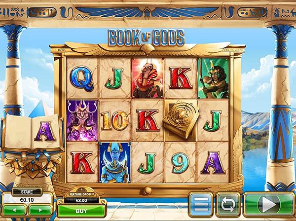 Main Gratis Slot Indonesia - Book of Gods (Big Time Gaming)