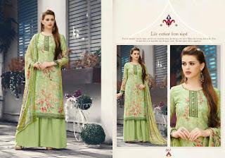 Bipson Aafreen woolen Pashmina  Salwar Suits