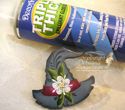 rosemaling witch pin varnish