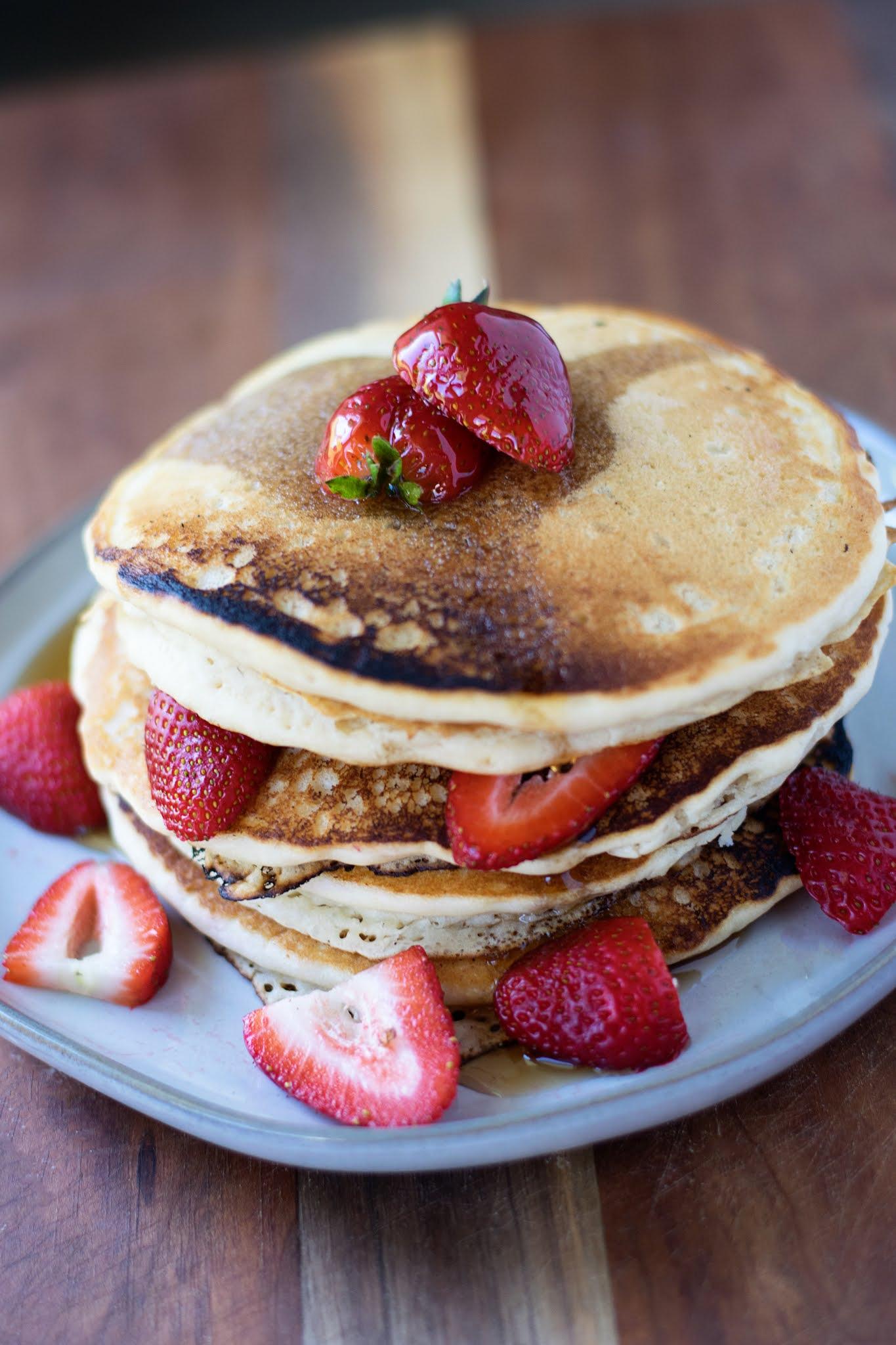 Perfect Light and Fluffy Vegan Pancake Recipe