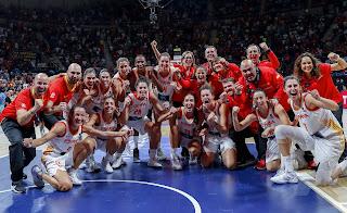 BALONCESTO (Mundial femenino 2018) - España no se baja del podio y consigue la revancha ante Bélgica y el bronce en Tenerife