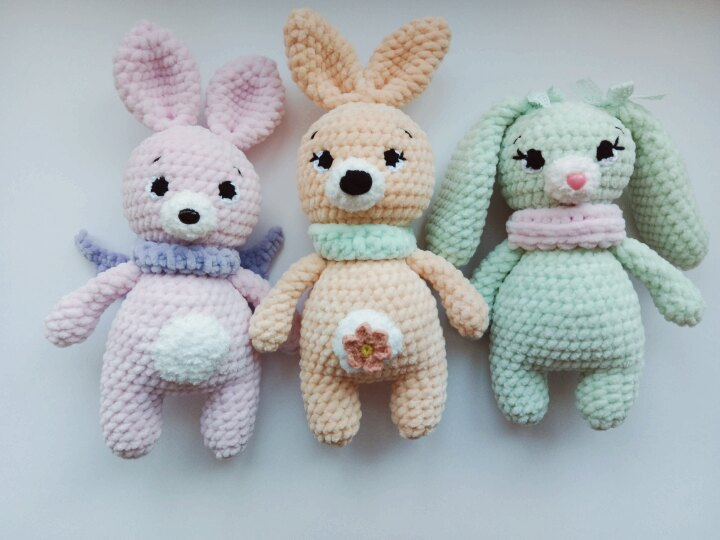 Plush Bunnies Amigurumi Patterns Amiguroom Toys