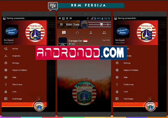 BBM Mod Tema Persija Jakarta v3.1.0.13 Apk