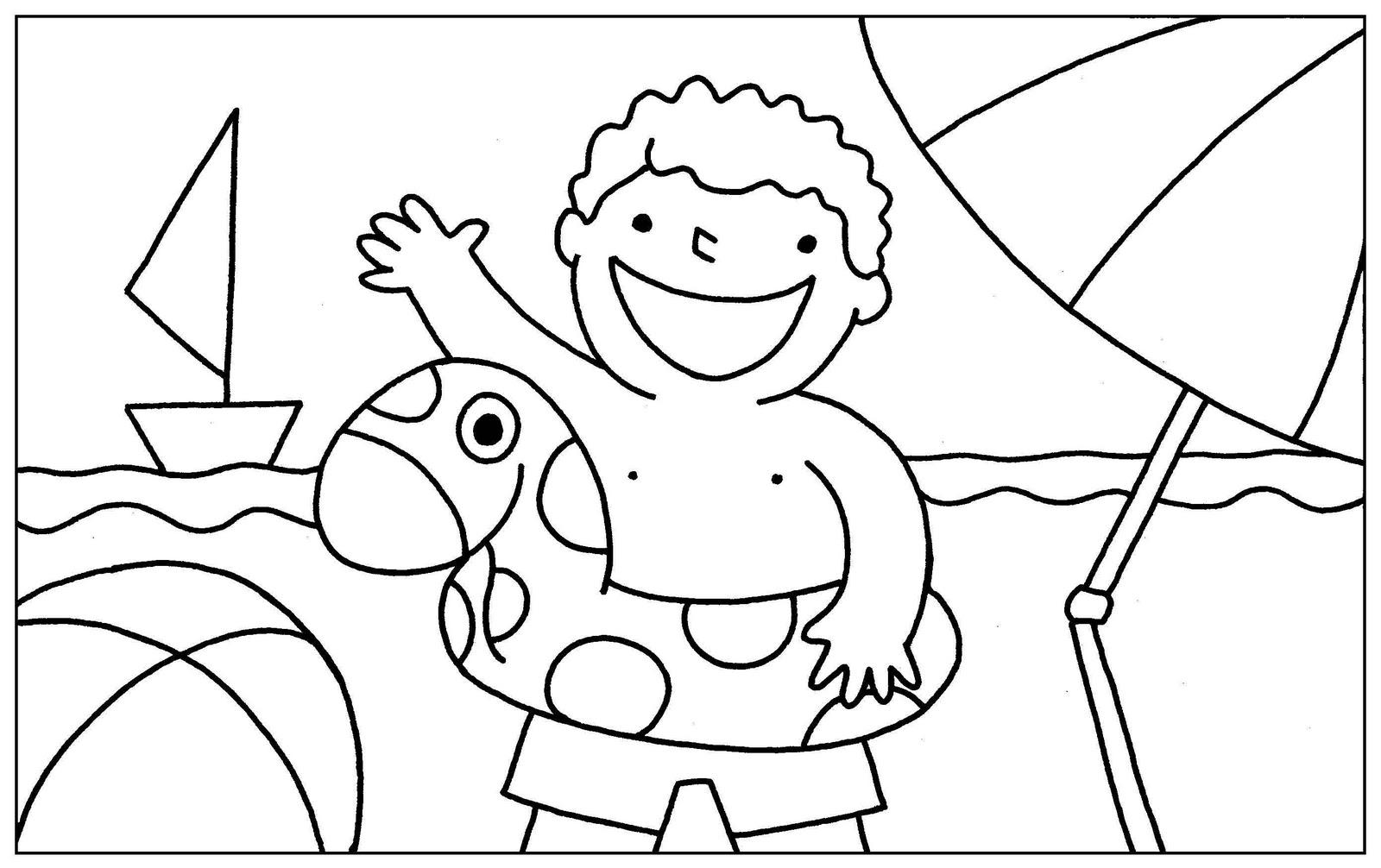 Dibujos Para Colorear Del Verano Para Niños Zapatillas Vans Para Niños