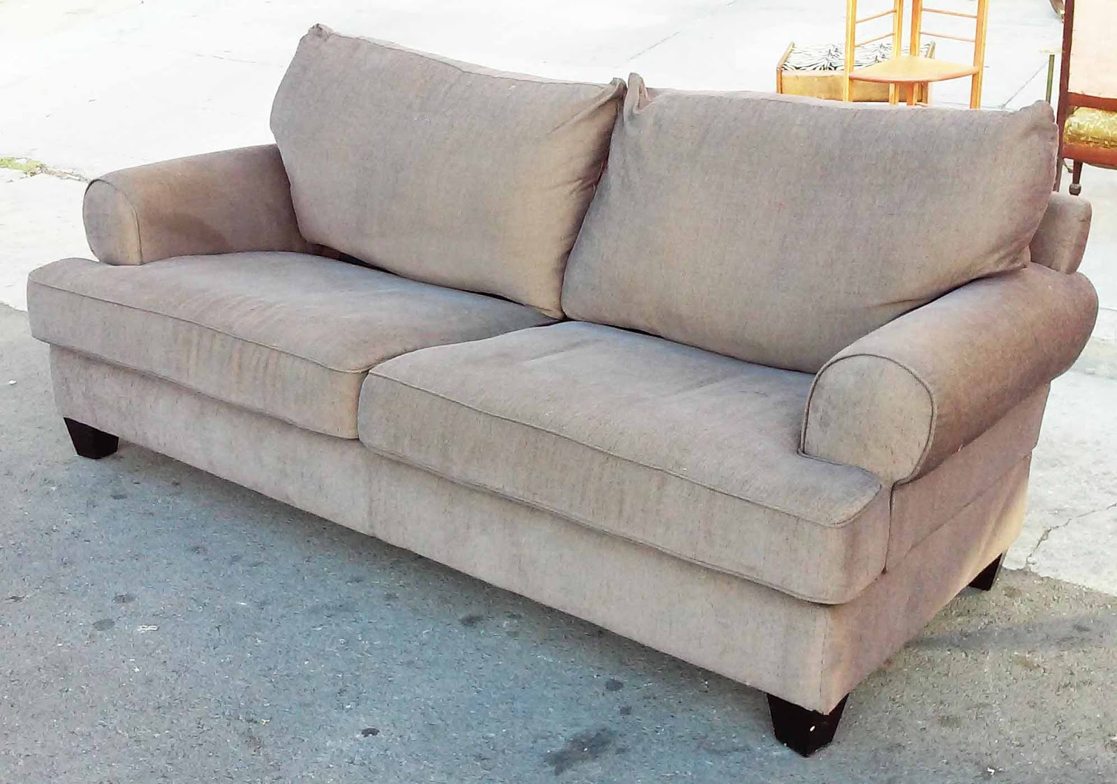 Sofa Bed With Innerspring Mattress Fabric Chesterfield Argos Uhuru Furniture And Collectibles Sold Queen Chocolate