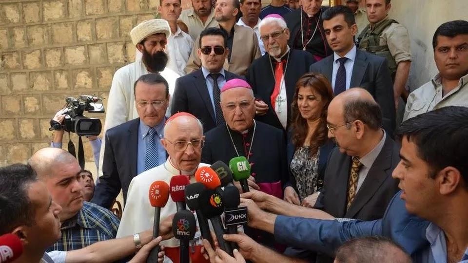 Filoni, a los medios iraquíes
