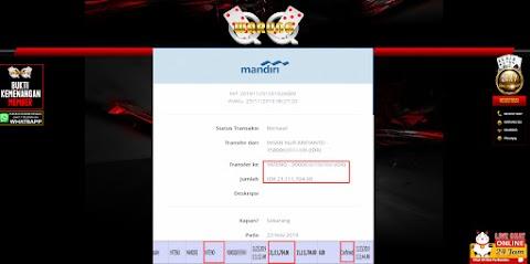 Selamat Kepada Member Setia WARUNGQQ Withdraw RP 21.111.704