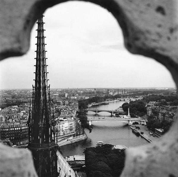 Vivian Maier - Notre-Dame de Paris 6 septembre 1959