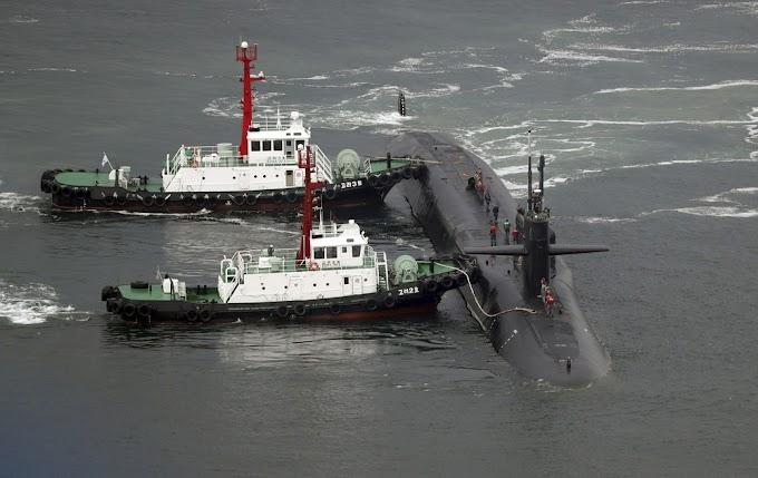 TENSÃO: Submarino americano com mísseis guiados chega à Coreia do Sul