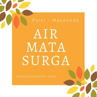Puisi - Air Mata Surga