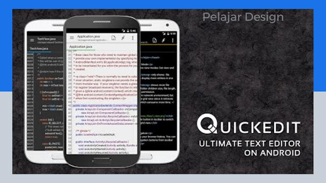 Aplikasi Text Editor Android Terbaik Untuk Kebutuhan Coding