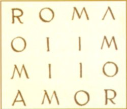 el nombre secreto de Roma es Amor