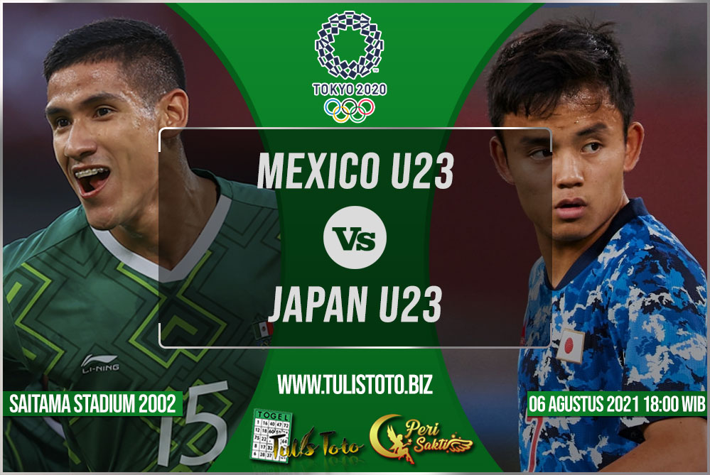 Prediksi Mexico U23 vs Japan U23 06 Agustus 2021