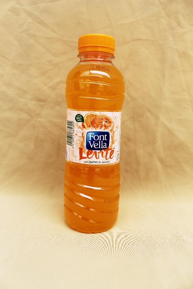 zumo de naranja font vella levite