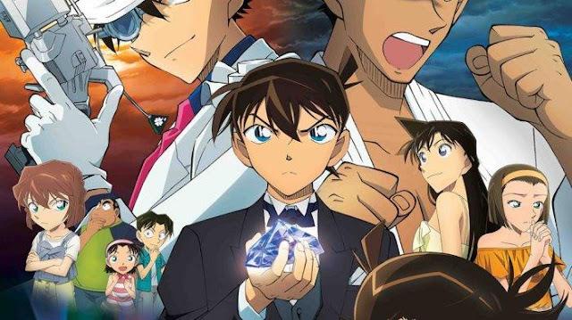 Detective Conan Movie 23 : The Fist of Blue Sapphire (2019) 360p 720p Subtitle Indonesia