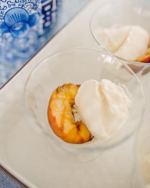 Easy Recipe: Bourbon Peaches and Ice Cream