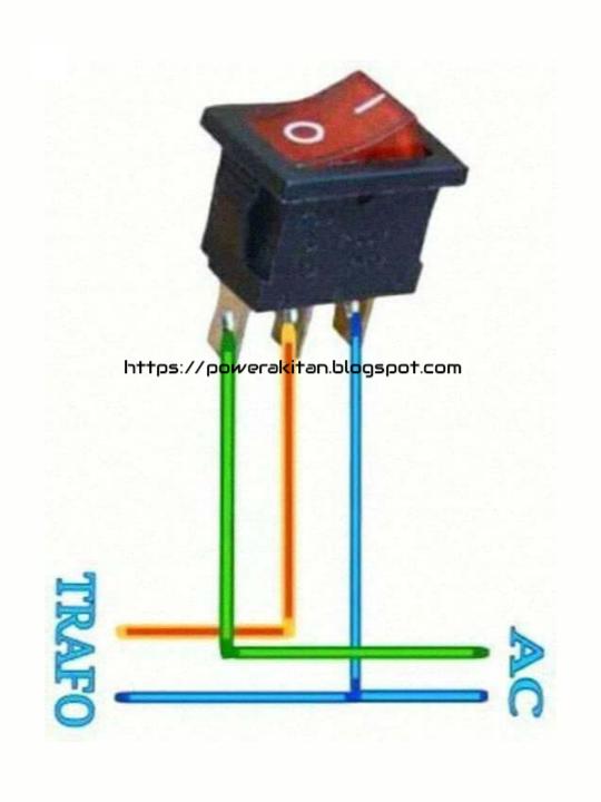 Cara Menyambung Trafo Ke Power : menyambung, trafo, power, Menyambung, Saklar, Untuk, Power, Benar