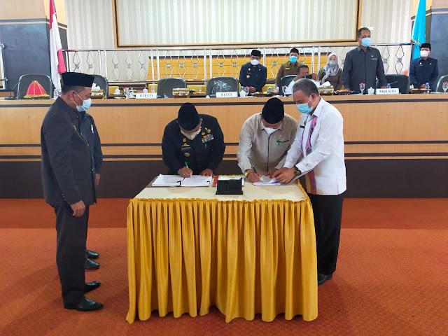 DPRD Bone Setujui Ranperda LPP APBD 2020 dan Ranperda Desa