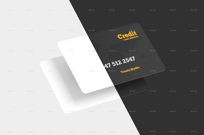 Credit Cards / Gift Cards Mockup 25801407