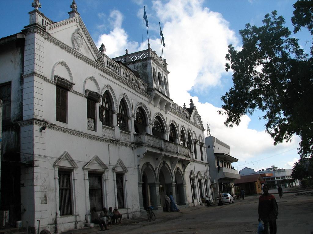 Здание правительства Занзибара