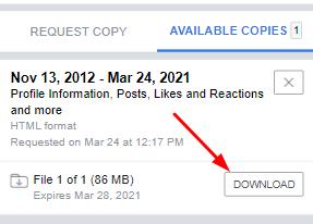 Download Fb Information