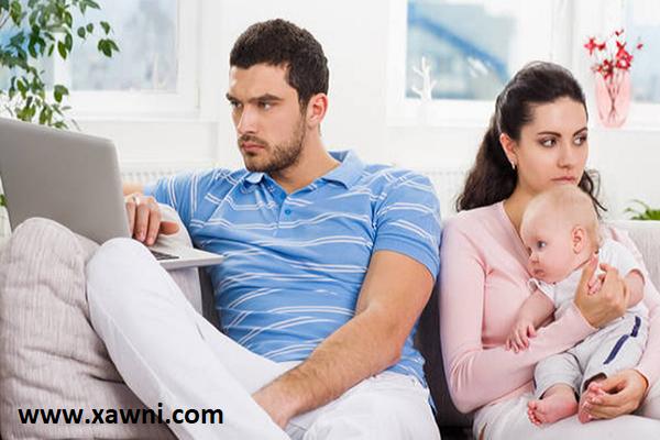 لا تدعي المولود بعد فترة قصيرة من الزواج قد يؤثر على حياتك الزوجية