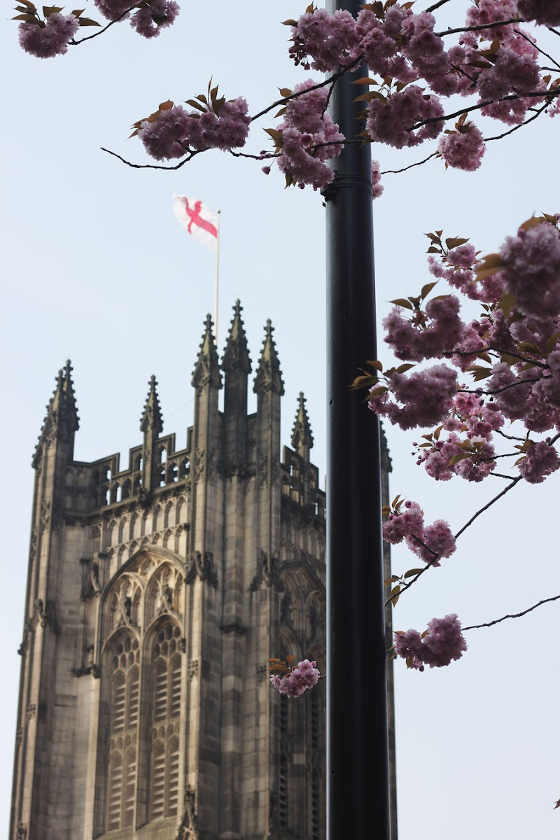 Manchester Cathedral in spring | www.itscohen.co.uk