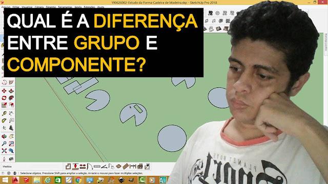 Qual é a Diferença entre Grupo e Componente?