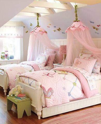 idea dekorasi bilik tidur untuk dua orang anak atau lebih